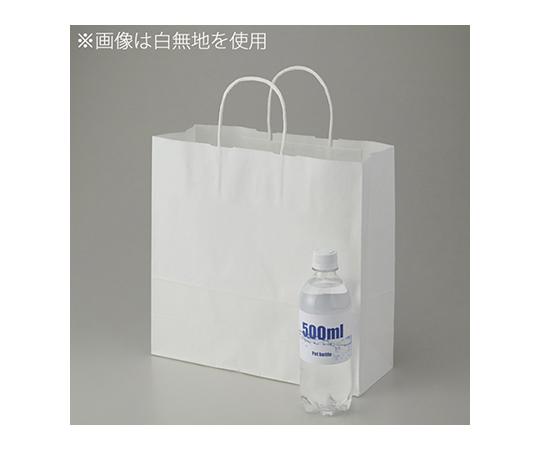 [取扱停止]HEIKO 紙袋 25チャームバッグ 25CB 3才 白筋無地 P 50枚 003251505