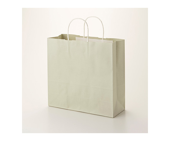 HEIKO 紙袋 25チャームバッグ 25CB 3才 グレー無地 50枚 003254300