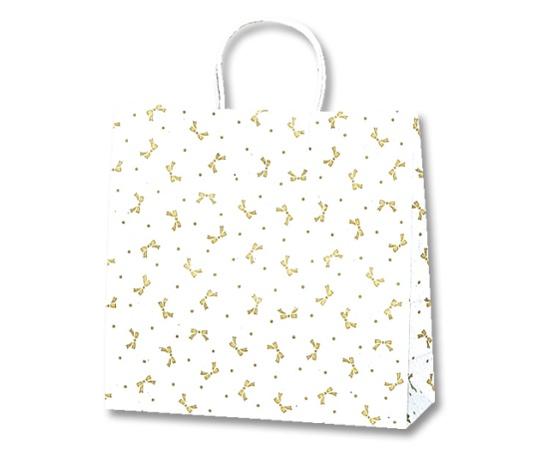 HEIKO 紙袋 25チャームバッグ 25CB 3才 ニューリボン 金 50枚 003258500