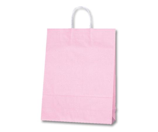 [取扱停止]HEIKO 紙袋 25チャームバッグ 25CB 2才 白筋無地 P 50枚 003218505