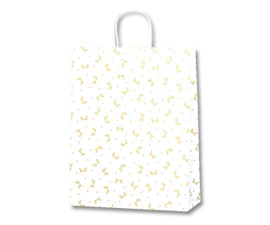 HEIKO 紙袋 25チャームバッグ 25CB 2才 ニューリボン 金 50枚 003228100