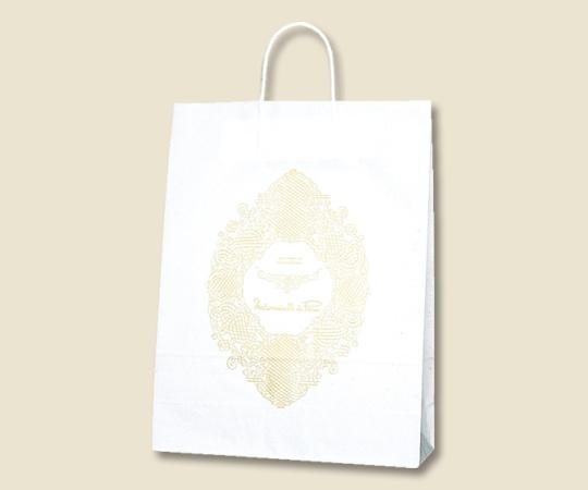HEIKO 紙袋 25チャームバッグ 25CB 2才 マドモアゼルパリ 50枚 003221900