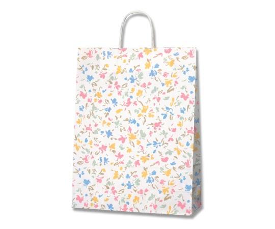 HEIKO 紙袋 25チャームバッグ 25CB 2才 ペールフラワー 50枚 003230000