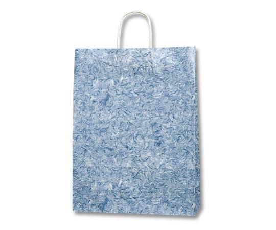 HEIKO 紙袋 25チャームバッグ 25CB 2才 雲竜 青 50枚 003230101