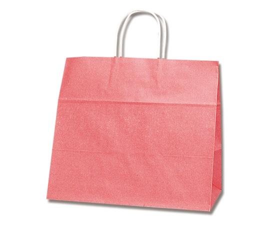 HEIKO 紙袋 25チャームバッグ 25CB 32-4 紅 50枚 003268100