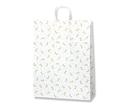 HEIKO 紙袋 25チャームバッグ 25CB カスタムB ニューリボン 金 50枚 003281200