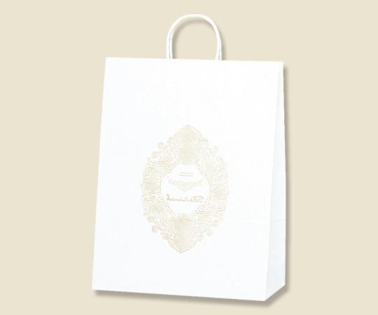 [取扱停止]HEIKO 紙袋 25チャームバッグ 25CB カスタムB マドモアゼルパリ 50枚 003281500