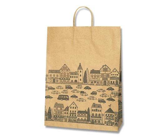 HEIKO 紙袋 25チャームバッグ 25CB カスタムB ニュータウンB 50枚 003282000