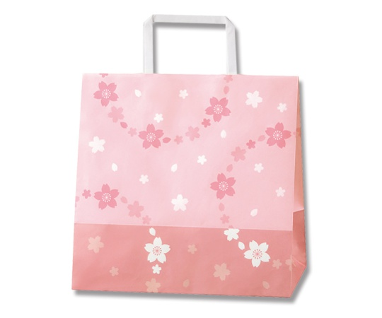 [取扱停止]HEIKO 紙袋 H25チャームバッグ 18-2 舞桜 50枚 003273550