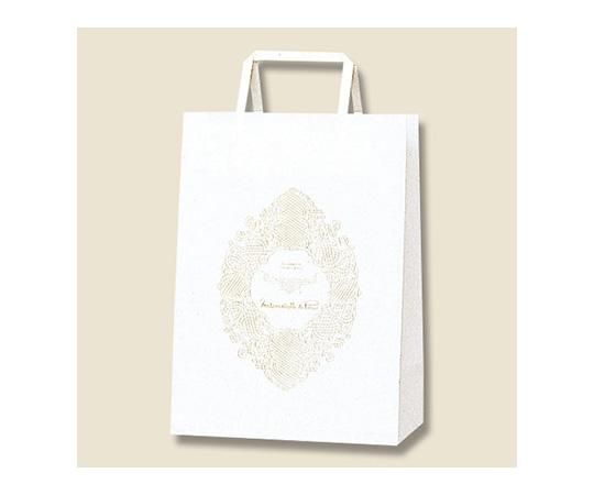 [取扱停止]HEIKO 紙袋 H25チャームバッグ S1(平手) マドモアゼルパリ 50枚 003263100