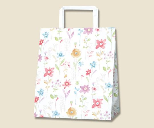 HEIKO 紙袋 H25チャームバッグ S2(平手) フラワーアラカルト 50枚 003264030