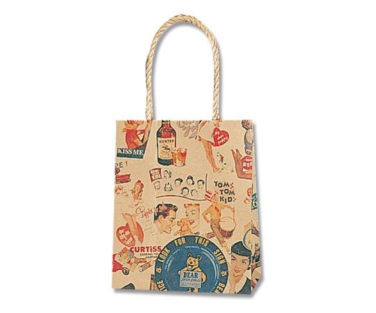 HEIKO 紙袋 スムースバッグ 16-09 キスミー 25枚 003155908