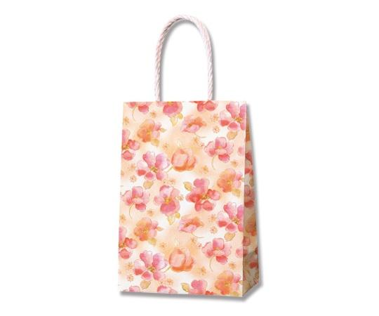 [取扱停止]HEIKO 紙袋 スムースバッグ 16-2 シフォンフラワー 25枚 003137880