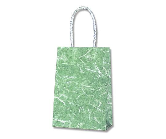 HEIKO 紙袋 スムースバッグ 16-2 雲竜 緑 25枚 003137810