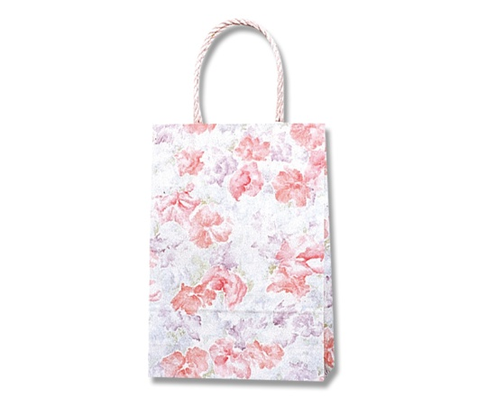 [取扱停止]HEIKO 紙袋 スムースバッグ 18-07 スイートフォグ 25枚 003156200