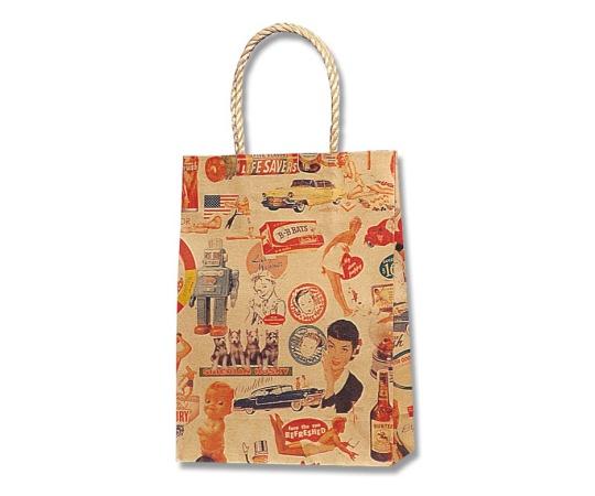 HEIKO 紙袋 スムースバッグ 18-07 キスミー 25枚 003156705