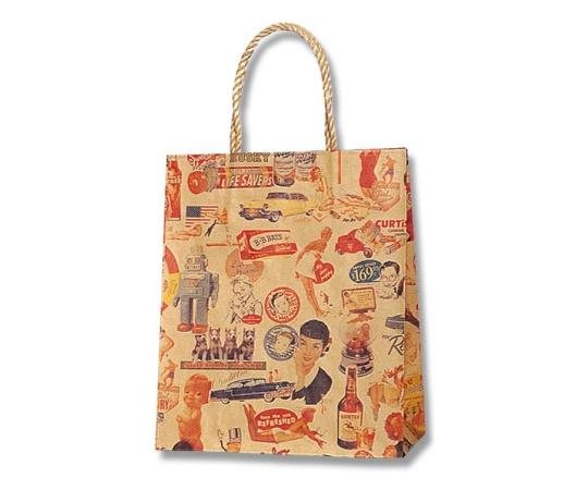 HEIKO 紙袋 スムースバッグ 22-12 キスミー 25枚 003156165
