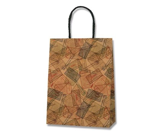 [取扱停止]HEIKO 紙袋 スムースバッグ 24-2 フレンチチケット 25枚 003158625