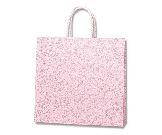 [取扱停止]HEIKO 紙袋 スムースバッグ 3才 カプリス ピンク 25枚 003157800