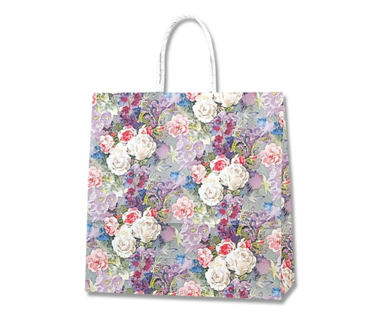 HEIKO 紙袋 スムースバッグ 3才 ホワイトローズ 25枚 003157722