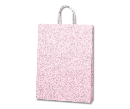 [取扱停止]HEIKO 紙袋 スムースバッグ 2才 カプリス ピンク 25枚 003157500