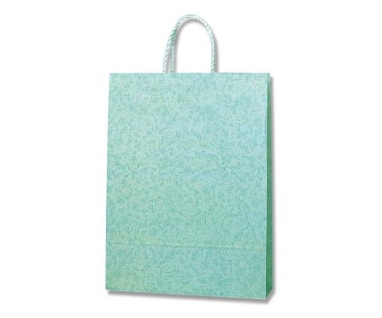[取扱停止]HEIKO 紙袋 スムースバッグ 2才 カプリス グリーン 25枚 003157501