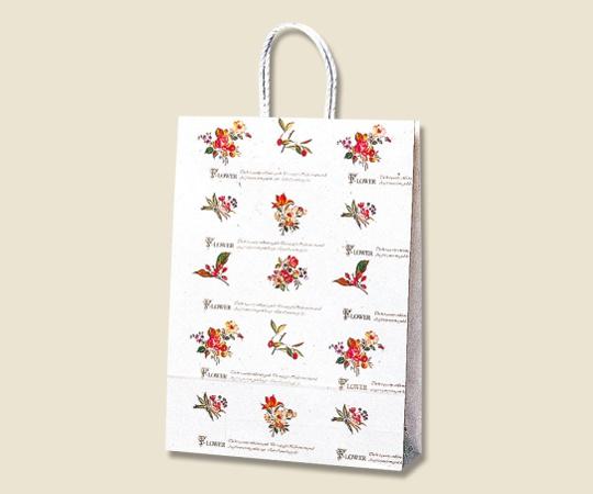 [取扱停止]HEIKO 紙袋 スムースバッグ 2才 シックスフラワー 25枚 003157401