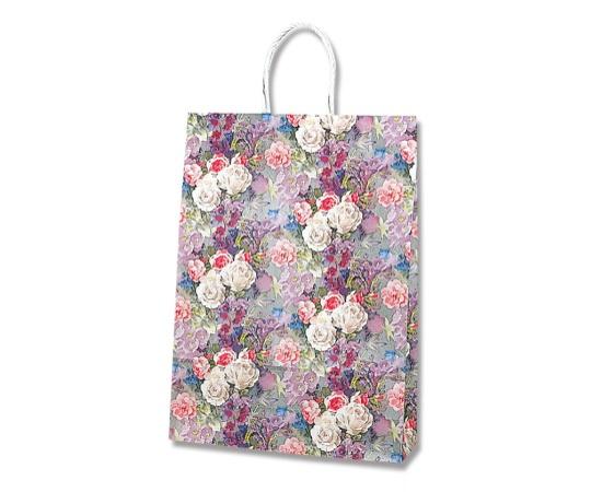 HEIKO 紙袋 スムースバッグ 2才 ホワイトローズ 25枚 003157422