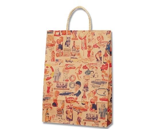 [取扱停止]HEIKO 紙袋 スムースバッグ 2才 キスミー 25枚 003157513