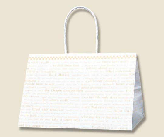 HEIKO 紙袋 Pスムース 31-19 チェッカー 25枚 003155202