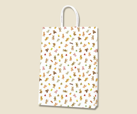 HEIKO 紙袋 Pスムース 2才 プチベア 25枚 003154004