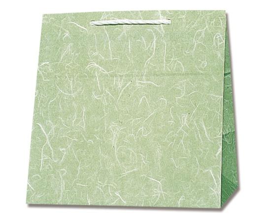 HEIKO 紙袋 T型チャームバッグ W2 雲竜 緑 50枚 003160601