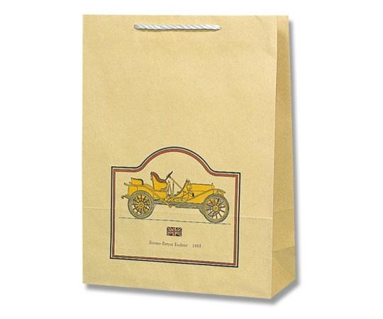 HEIKO 紙袋 T型チャームバッグ 大判 ロードスター 50枚 003180100