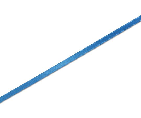 HEIKO シングルサテンリボン 6mm幅×20m巻 Rブルー