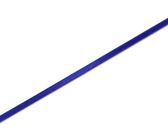 HEIKO シングルサテンリボン 6mm幅×20m巻 青 001419818
