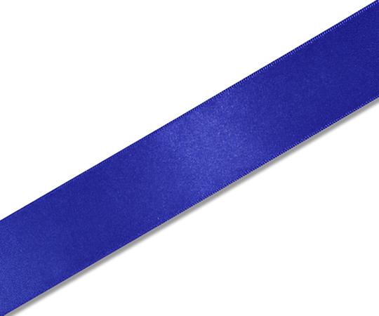 HEIKO シングルサテンリボン 36mm幅×20m巻 青 001420318