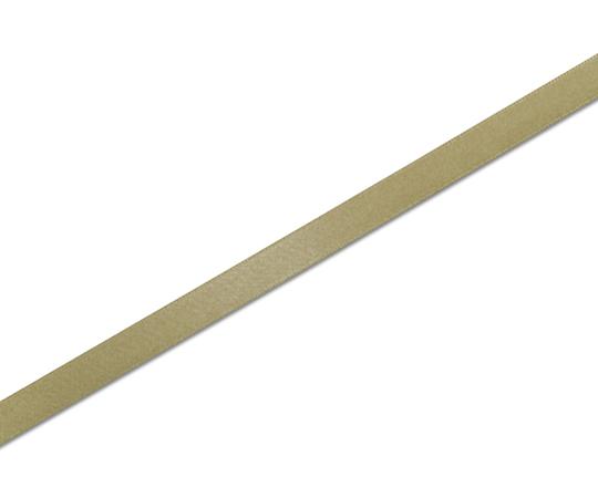 HEIKO シングルサテンリボン 9mm幅×20m巻 キンチャ