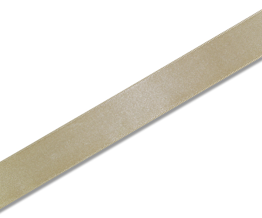 HEIKO シングルサテンリボン 24mm幅×20m巻 キンチャ