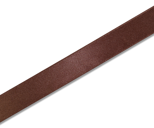 HEIKO シングルサテンリボン 24mm幅×20m巻 ココア 001420211