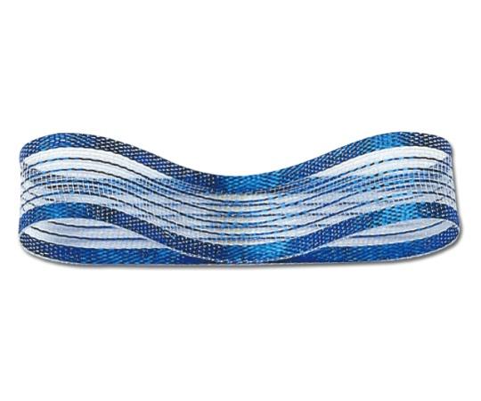 [取扱停止]HEIKO シースルーリボン 18mm幅×30m巻 青