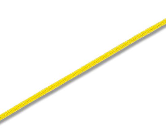 [取扱停止]HEIKO モール1分 φ3mm×24cm 黄色 100本入り