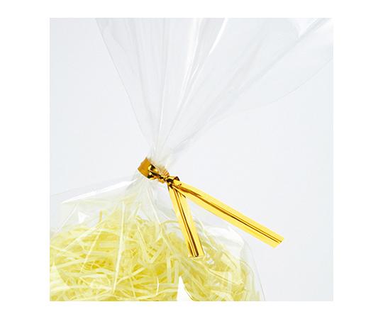 HEIKO カラータイ(ミニパック) 4mm幅×8cm 金 100本入り 004742190
