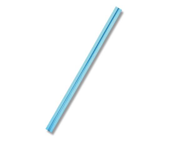 HEIKO カラータイ 4mm幅×80mm ブルーメタリック 100本入