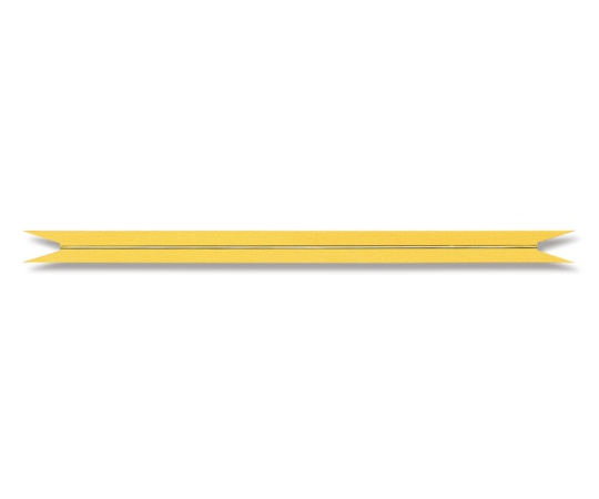 HEIKO Vカットカラータイ ゴールド 12mm幅×20cm 20本入り