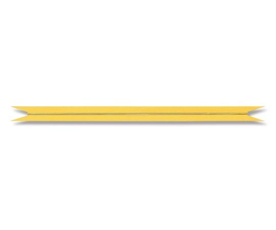 HEIKO Vカットカラータイ ゴールド 12mm幅×20cm 20本入り 004742201