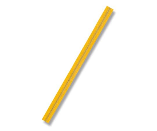 カラータイ 4mm幅×8cm 黄色 1000本入り 004742030