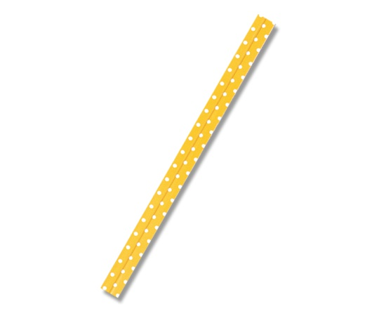 HEIKO ポップタイ 8mm幅×12cm D-3 レモン 500本入り 004744463