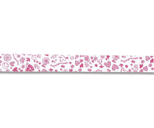 [取扱停止]HEIKO クラフトタイ 15mm幅×22cm ハートポップ ピンク 15本入り