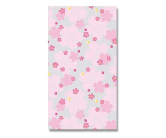 [取扱停止]HEIKO OPP袋 クリスタルパック柄入り 3S 花さくら 50枚