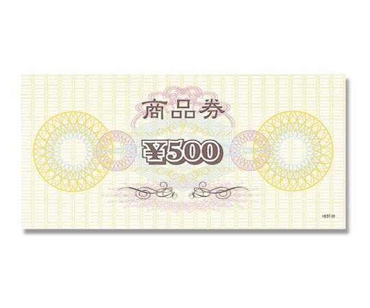 HEIKO 販促用品 N商品券 \500券 100枚 007222701